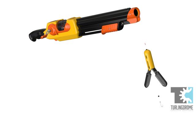 Rocket fishing rod turlingdrome creative services for Rocket fishing pole