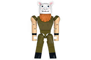 Thumbnail of WWE Erick Rowan Minifigure for The Bridge Direct by Turlingdrome Creative Services
